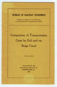 Comparison of Transportation Costs by Rail and via Barge Canal