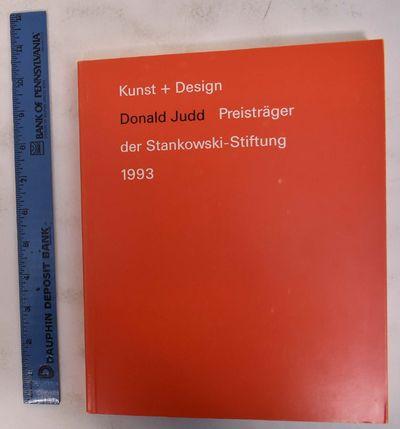 Stuttgart: Cantz, 1993. Paperback. VG. Orange wraps with white and black lettering. 159 pp. Mainly c...