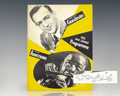 New York: Columbia Records, 1953. Rare jazz concert program from a 1953 performance of the Benny Goo...
