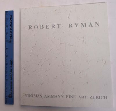 Zurich: Thomas Ammann Fine Art, 2002. Softcover. Like New. Cream paper wraps with silver lettering o...
