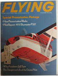 Flying Magazine. November, 1972. Vol. 91, No. 5