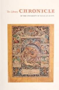 The Library Chronicle of the University of Texas as Austin, Volume 26, Number 3