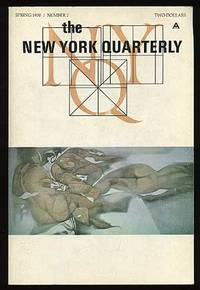 New York: New York Quarterly, 1970. Softcover. Fine. First edition, variant printing with front wrap...