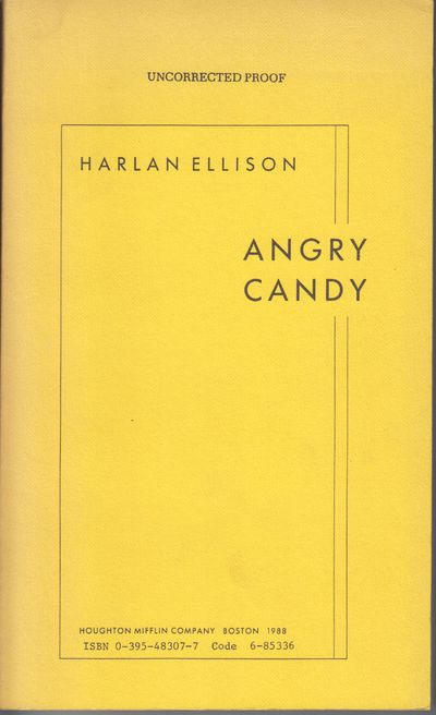 Boston: Houghton Mifflin. 1988. First Edition; First Printing. Softcover. Wraps, advance uncorrected...