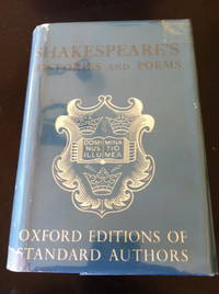 image of Shakespeare's Histories and Poems [Oxford Standard Authors]