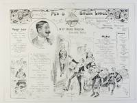 image of Pictorial menu for his Installation Banquet, (W. Holmes Kingston, Worshipful Master)