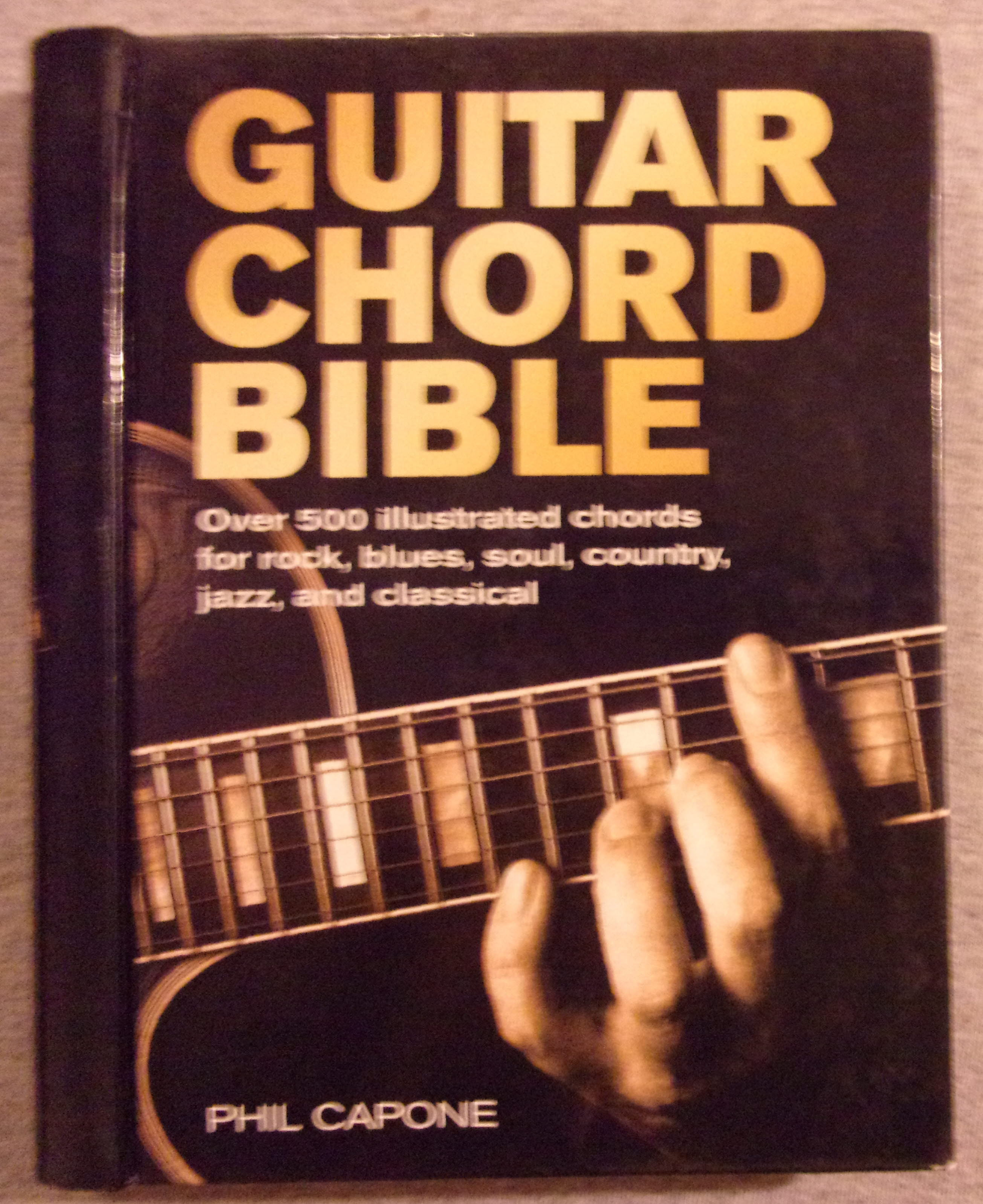 9780785820833 Guitar Chord Bible Over 500 Illustrated Chords For