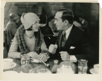 Burbank, CA: Warner Brothers, 1927. Vintage black-and-white reference photograph from the 1927 film....