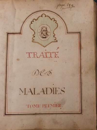 TRAIT� DES MALADIES
