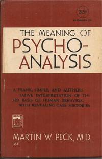 image of The Meaning of Psycho-Analysis (Psychoanalysis)