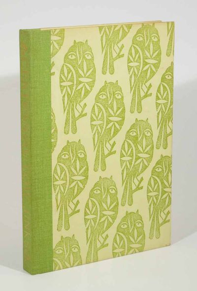 : The Bohemian Club, 1972. 1st edition. Green cloth spine with green patterned paper wrapped boards....
