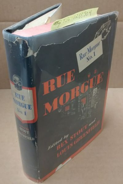 New York: Creative Age Press, 1946. First Edition, First Printing. Hardcover. Octavo; VG/G; black, r...