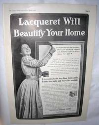 Home Improvement Advertisements: 1905-06 Alabastine, Lacquer