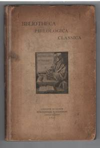 Philologie Classique. Catalogue de Livres anciens et modernes aux prix marques No. 46. Bibliotheca philologica Classica (Classical Philology. Catalogue of Ancient and Modern Books Price Brands No. 46.)