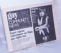 image of GCN: Gay Community News; the weekly for lesbians and gay males; vol. 18, #1, July 8-14, 1990: Court rejects referendum on Mass. gay rights law