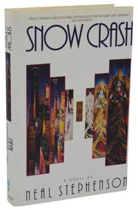 Snow Crash by  Neal Stephenson - Advance Uncorrected Proof - 1992 - from Burnside Rare Books, ABAA and Biblio.com