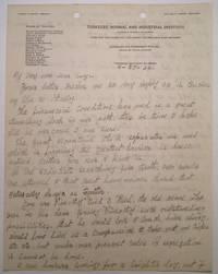 Autographed Letter Signed