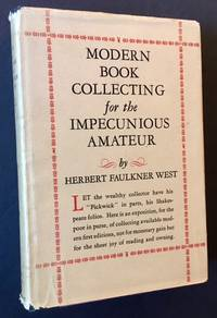 image of Modern Book Collecting for the Impecunious Amateur (Inscribed By Kenneth Roberts)
