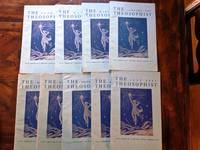 THE THEOSOPHIST magazine 1967 lot of 9 issues