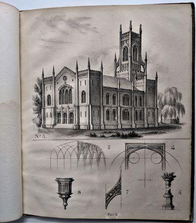 Burlington (VT): Printed by Smith & Harrington, 1836. 4to. 275 x 225 mm., . vi. 46 pp. Litho...