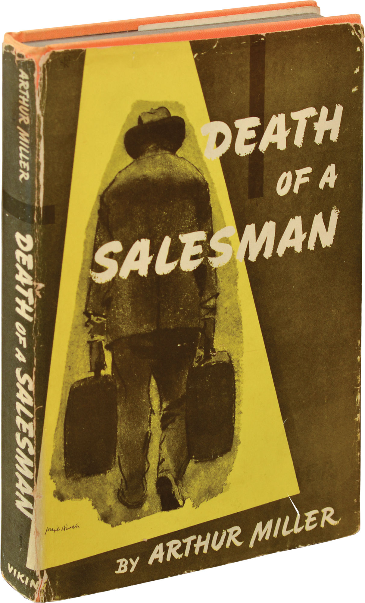 Death Of A Salesman First Edition By Miller Arthur 1949