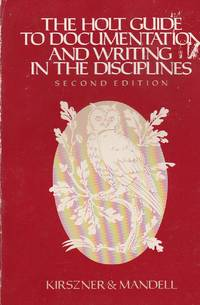 image of Holt Guide to Documentation and Writing in the Disciplines