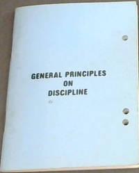 image of General Principles on Discipline