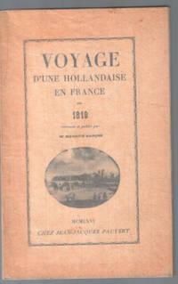 image of Voyage d'une hollandaise en France en 1819
