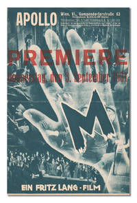 M - ORIGINAL AUSTRIAN PREMIERE PROGRAM by  Peter (starring)  Thea (screenwriter); Lorre - First Edition - 1931 - from Captain Ahab's Rare Books (SKU: 1738)