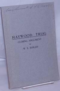 image of Haywood trial, closing argument