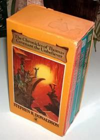 The Chronicles Of Thomas Covenant The Unbeliever Boxed Set of Three Books