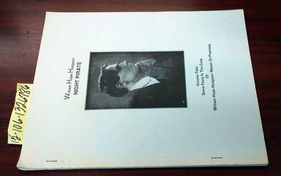 Toronto: Soft Books, 1987. 234/250. Softcover. Booklet ; pp 23; Good/paperback; stapled binding; fir...
