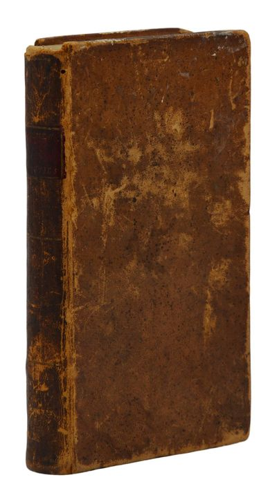 Albany, NY: Printed and Sold by Barber & Southwick, 1797. First American Edition. Contemporary Full ...
