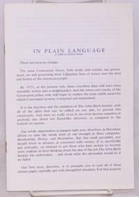 image of In plain language