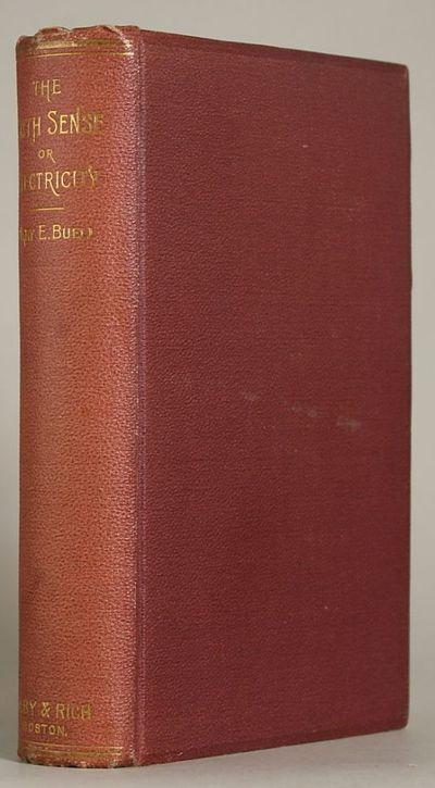 Boston: Colby & Rich, 1891. Octavo, pp. 3-4 6-521 , original maroon bevel-edged pebbled cloth, spine...