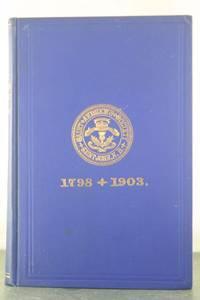 History of St. Andrew's Society of Saint John, N.B., Canada 1798-1903
