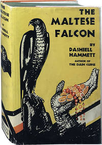 The Maltese Falcon by  Dashiell Hammett - Hardcover - 1930 - from Carpetbagger Books, IOBA (SKU: 4574)