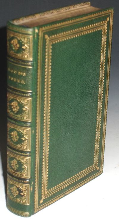 London: Edwad Moxon and Co, 1863. 12mo. Sixteenth edition with a fore-edge painting depicting a scen...
