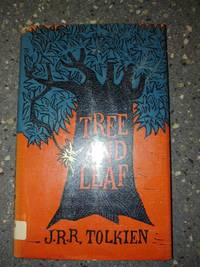 Tree And Leaf by J.R,R. Tolkien (1965, Houghton Mifflin 1st Ed.)