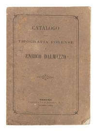 Tipografia Forense Di Enrico Dalmazzo Catalogo
