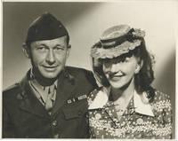 image of Bert and Bonnie Lynch (Two original photographs of MGM Still Photographer Bert Lynch and wife Bonnie Lynch, inscribed to Burt by Bonnie)