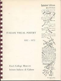Italian Visual Poetry 1912–1972