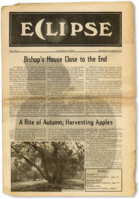 Eclipse, Vol. 1, no. 5, Wednesday, October 12, 1977 by  et al  Peter - Paperback - First Edition - 1977 - from Lorne Bair Rare Books and Biblio.com