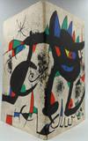 Miro. Paintings, Gouaches, SOBRETEIXIMS, Sculpture, Etchings.  Exhibition Catalog