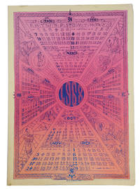 1968: A Limited Edition Calendar  (Original head shop poster)