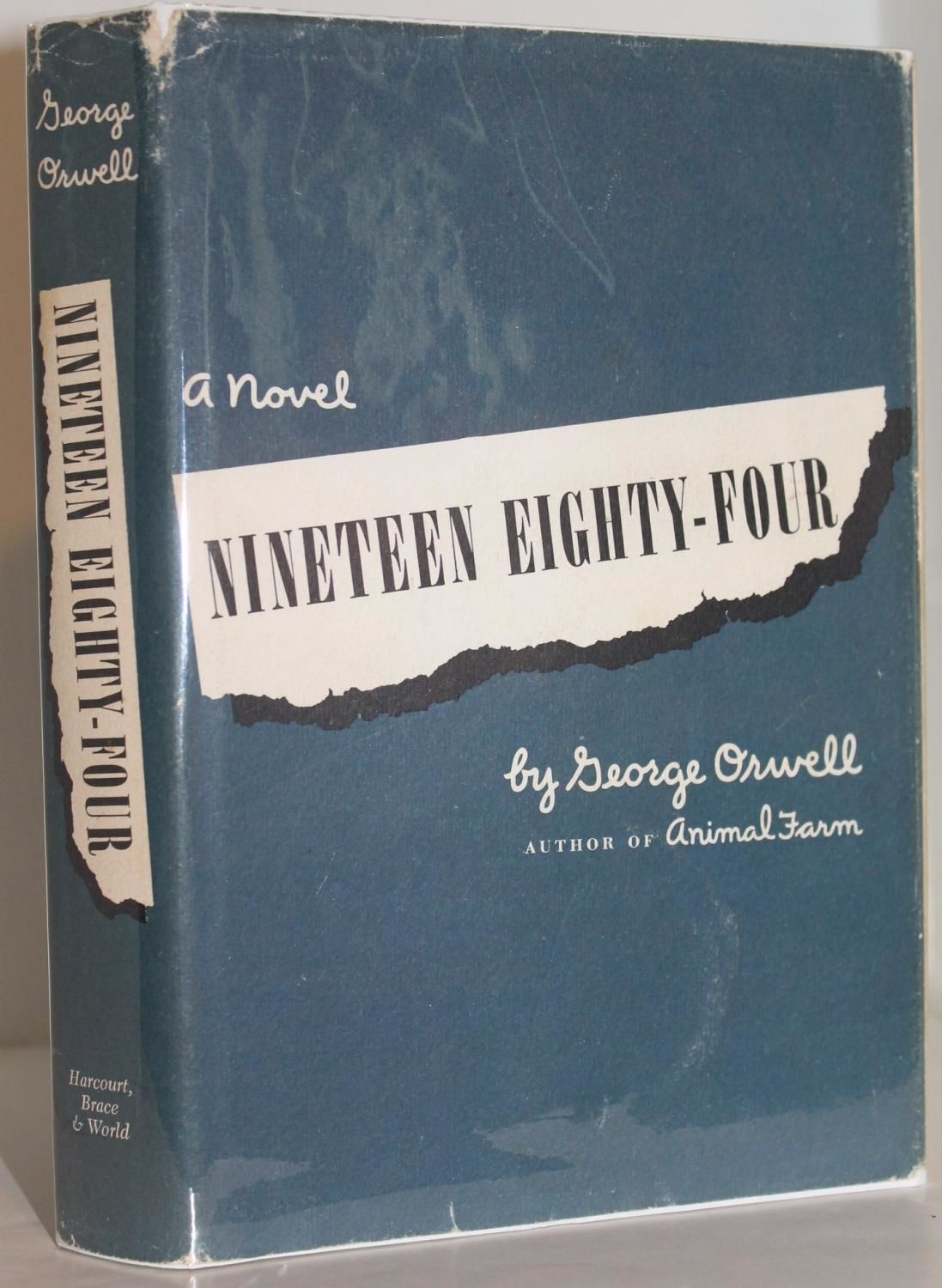 Nineteen Eighty Four By George Orwell Hardcover 1950 From Genesee Books Sku Abe 1503434648920