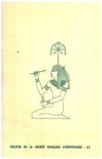 image of Bulletin de la societe française d'egyptologie n° 63