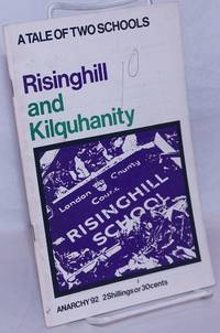 image of Anarchy. No. 92 (Vol. 8 No. 10), October 1968: A Tale of Two Schools; Risinghill and Kilquhanity