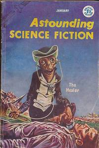 image of Astounding Science Fiction Volume XIII, No. 1 (British Edition). January 1957