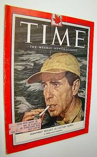 Time Magazine, June 7, 1954 - Humphrey Bogart as Captain Queeg Cover Illustration